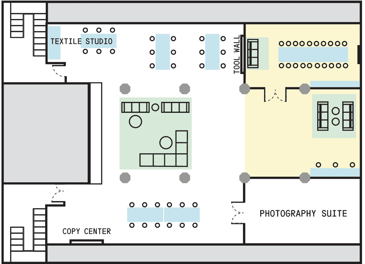 Makerspace Floor Plan